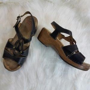 Dansko Leather Sandals